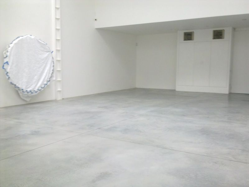 Ashe White Floors Lisson Gallery Steyson Granolithic