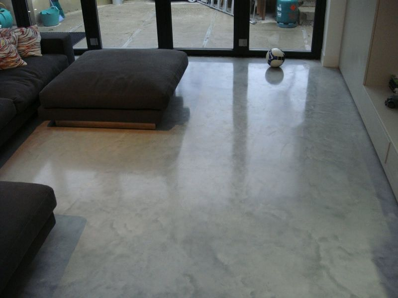 Ashe White Floors SW18 Steyson Granolithic Contractors Ltd