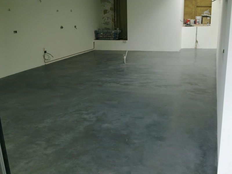 Concrete Floors In Homes : Natural power float concrete floors house oxted