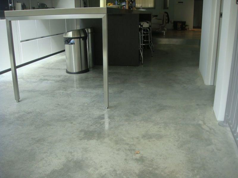Natural Power Float Concrete Floors, House, W11