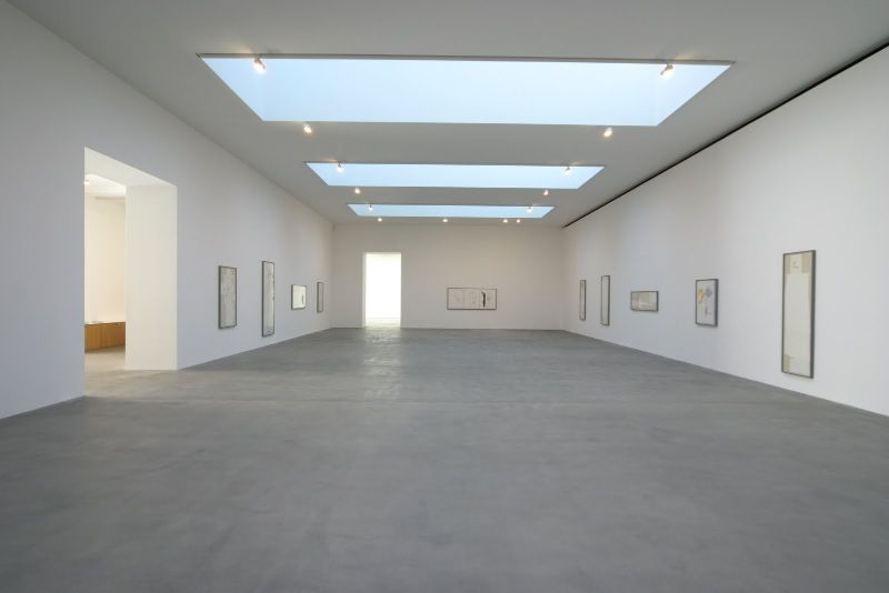 Shot blasted concrete floors gagosian gallery steyson for Floors on floors