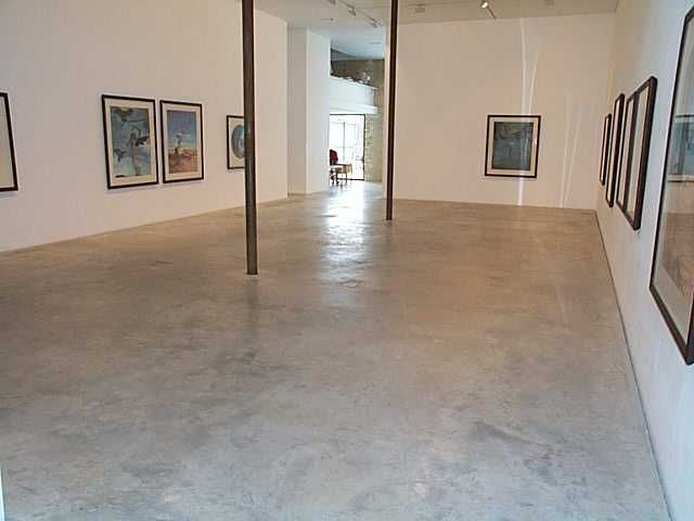 Natural power float concrete floors victoria miro gallery for Polished concrete floors uk
