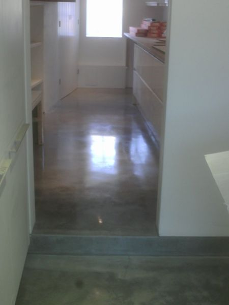 Steel Grey Floors Gloucester House Steyson Granolithic